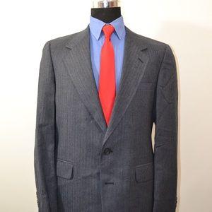 Izod Suits & Blazers - Izod 41L Sport Coat Blazer Suit Jacket Dark Blue H